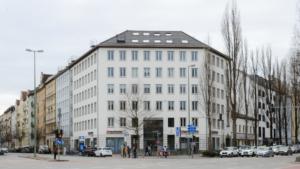 Psychotherapie im Herzen Münchens: Außenansicht Psychotherapeutisches Gesundheitszentrum am Goetheplatz